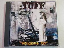 TUFF RELIGIOUS FIX 1995 OOP CD BASSIST ROBBIE AUTOGRAPH CRANE RATT VINCE NEIL