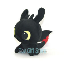 "TOOTHLESS Night Fury 6"" * How To Train Your Dragon 2 *  Plush Doll Stuffed Toy"