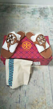 Tory Burch - Metal Miller Tan with Rose Gold Leather Thong Sandals 5M