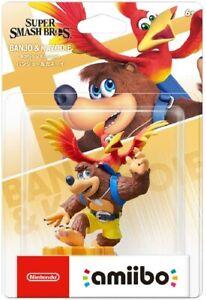NEW Nintendo amiibo BANJO & KAZOOIE (Super Smash Brothers) JAPAN import NEW