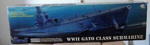 REVELL 1:72 85-0384 WW2 Gato Class Submarine top mit Big Ed ungebaut mit OVP