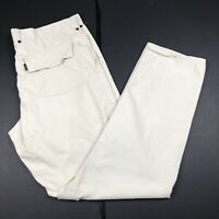 Paul Smith Jeans Cotton Trousers / Chinos 38W 34L Cream / Beige