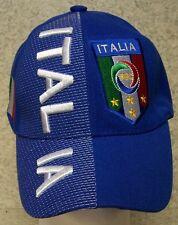 Embroidered Baseball Cap Soccer International Italy Football Club NEW