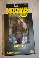 DC Direct Watchmen RORSCHACH Collector Action Figure NEW IN BOX FACTORY SEALED!