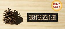 1BURZUM D PATCH,BUY3GET4,DARKTHRONE,BATHORY,EMPEROR,MAYHEM,ULVER,BLACK METAL,FEN