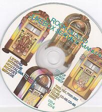 JUKEBOX  SERVICE MANUALS  ROCK-OLA  CD-4 CD-6 CD-8 CD-8B CD-8C CD-6CF   ECT