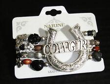 Western Cowgirl Jewelry ~Cowgirl~ Beaded Stretch Bracelet