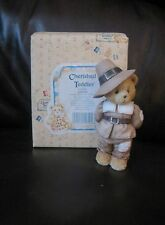 """CHERISHED TEDDIES JEDIDIAH """"GIVING THANKS FOR FRIENDS"""""""