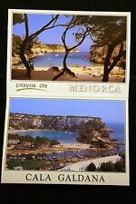 Menorca 5 unposted photo postcards in a sheet -bought on holiday 1990's not used