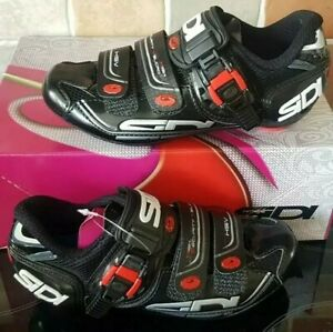 SIDI GENIUS 7 WOMAN BLACK CYCLING SHOES SIZE EUR 36 US 4 1/2 BRAND NEW IN BOX WT