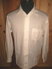 SIGNUM Hemd Freizeithemd Langarm Männer weiß vtg white +neuwertig+ Gr.M