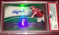 Aroldis Chapman New York Yankees 2010 Bowman PLATINUM RC auto MLB card PSA 9 !!!