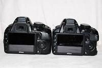 Genuine Nikon D40 D40X Rear Screen Window (Repair Part) Cover FREEPOST UK