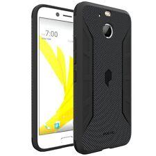 Poetic Karbon Shield Carbon Carbon Fiber Texture TPU Case for HTC Bolt