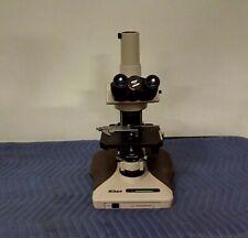Nikon Optiphot 2 Polarizing Trinocular Microscope Petrographic