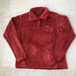 Patagonia Women Re Tool Snap T Pullover Fleece Jacket Size Large