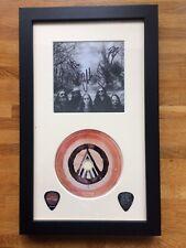 Signed Blackberry Smoke Find A Light Photocard, Cd & Guitar Picks Framed Set