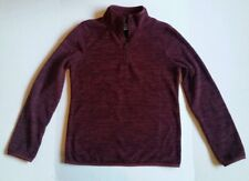 9.5) Girls Size youth 10-12 Large Old Navy Pullover Fleece Lightweight Jacket
