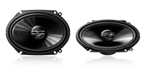 "Pioneer TS-G6820S 250 Watt 6"" x 8"" 2-Way Coaxial Car Audio Speaker 6x8"" 5"" x 7"""