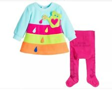 Baby Wear By Agatha Ruiz De La Prada Baby Dress & Tights New 18 Months