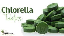 *** *** *** Chlorella Orgánica 1000 comprimidos de 500 mg DE PARED CELULAR ROTA