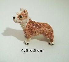 chien miniature en céramique ,collection, vitrine, hondje, dog   G-chiens-W32