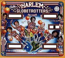 Bally Harlem Globetrotters pinball machine translite replacement