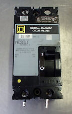 Square D Fal22015 15 Amp 240v Circuit Breakers 2 Pole Used Take Out