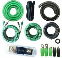 SoundBox VSK-0, 0 Gauge AWG Amplifier Install Kit - 20 Ft Wire - 5500W