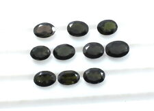 6CT 10Piecs Natural Green Faceted Tourmaline Gemstone Oval Cut Lot S856