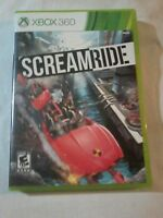 ScreamRide (Microsoft Xbox 360, 2015) Complete Tested Fast Shipping!