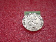 Münzen Schweiz 1920 B Swiss 1 x 20 Rappen 1920  Coin Svizzera schön siehe Bild
