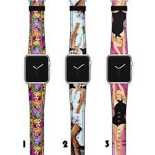 Monroe Apple Watch Band 38 40 42 44 Series SE 6 5 1 2 3 4 Wrist Strap iWatch S13