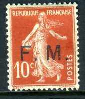 France 1906 10¢ Sower Military Scott M4 Mint Z332