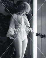 1960s NUDE 8X10 PHOTO BUSTY BIG BOOBS JULIE WILLS WILLIAMS  FROM ORIGINAL NEG-48