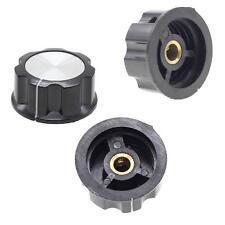 New 1PCS Knurled Shaft Potentiometer Volume Component Control Switch Rotary Knob