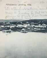 Postcard Athabasca Landing Alberta Canada Vintage P43