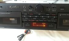 TASCAM 202 MKIII Dual Cassette Deck Player/Recorder- USED - Good Condition