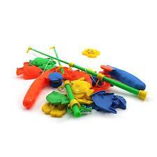 Baby Kid Children Magnetic Fishing 2 Rods + 20 Fish Models Preschool Toy Gift