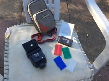Miranda 700CD Shoe Mount Flash COMPLETE WITH WIDE ANGLED ADAPTOR & 3 FILTERS&BAG