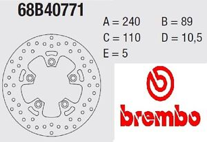 Disco freno BREMBO Serie Oro POST Suzuki 600 GSF BANDIT S 95 > 04