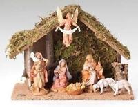 5 Inch Fontanini Italian 7 Pc Nativity Set Scene 54564