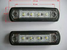 LED Markierungsleuchte Umriss leuchte Positionsleuchte Begrenzungsleuchte - Weiß