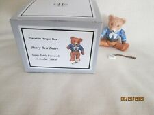 Midwest Beary Best Christofur Teddy Bear Boy Phb Hinged Box