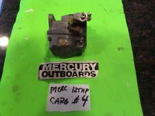Mercury outboard 125hp carb carburetor #4 4cyl 2stroke