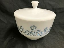 Federal Oven Proof White Milk Glass Lady Michelle ~ 1 1/4 Qt Casserole Dish