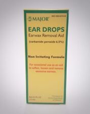 CARBAMIDE-PEROXIDE EARWAX REMOVAL AID DROPS 15ML MAJOR