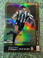Panini WCCF 2016-17 Filippo Inzaghi ATLE Legend Refractor card Italy