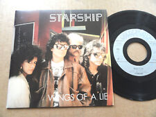"DISQUE 45T DE STARSHIP  "" WINGS OF A LIE """