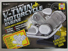 VISIBLE V-TWIN MOTORCYCLE engine motor working model cam sound Haynes Kit NEW
